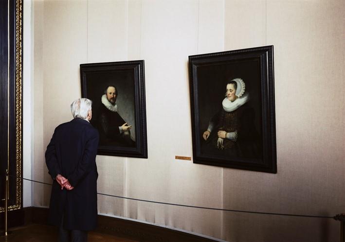 Thoma Struth, Kunsthistorisches Museum 3, Vienna, 1989