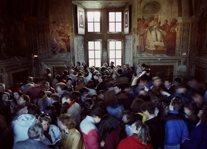 Thomas Struth, Stanze di Raffaello 2, Rome, 1990