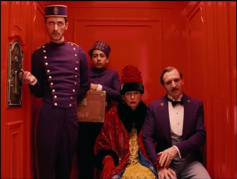 The Grand Budapest Hotel, Wes Anderson, 2014