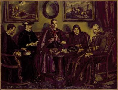 José Solana, La visita del obispo, 1926