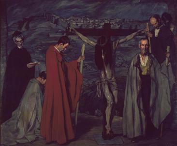 Ignacio Zuloaga, El Cristo de la sangre,