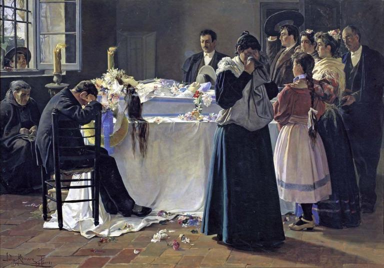 Julio Romero de Torres, ¡Mira qué bonita era!, 1895