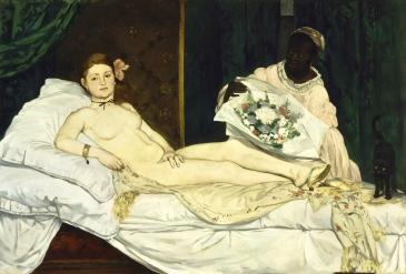 Édouard Manet, Olymplia, 1863