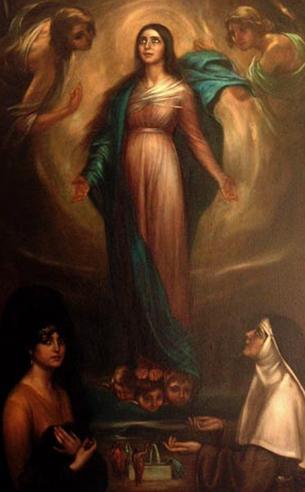 Julio Romero de Torres, La Virgen de los Faroles, 1928