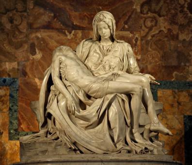 Miguel Ángel, La Piedad del Vaticano, 1498 - 1499