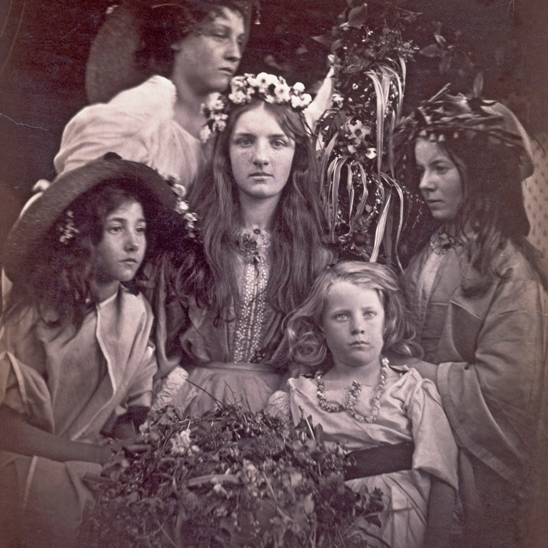 May Day, Julia Margaret Cameron, 1866