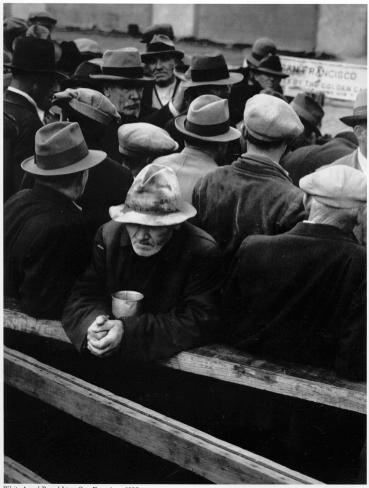 Dorothea Lange, White Angel Breadline, 1933