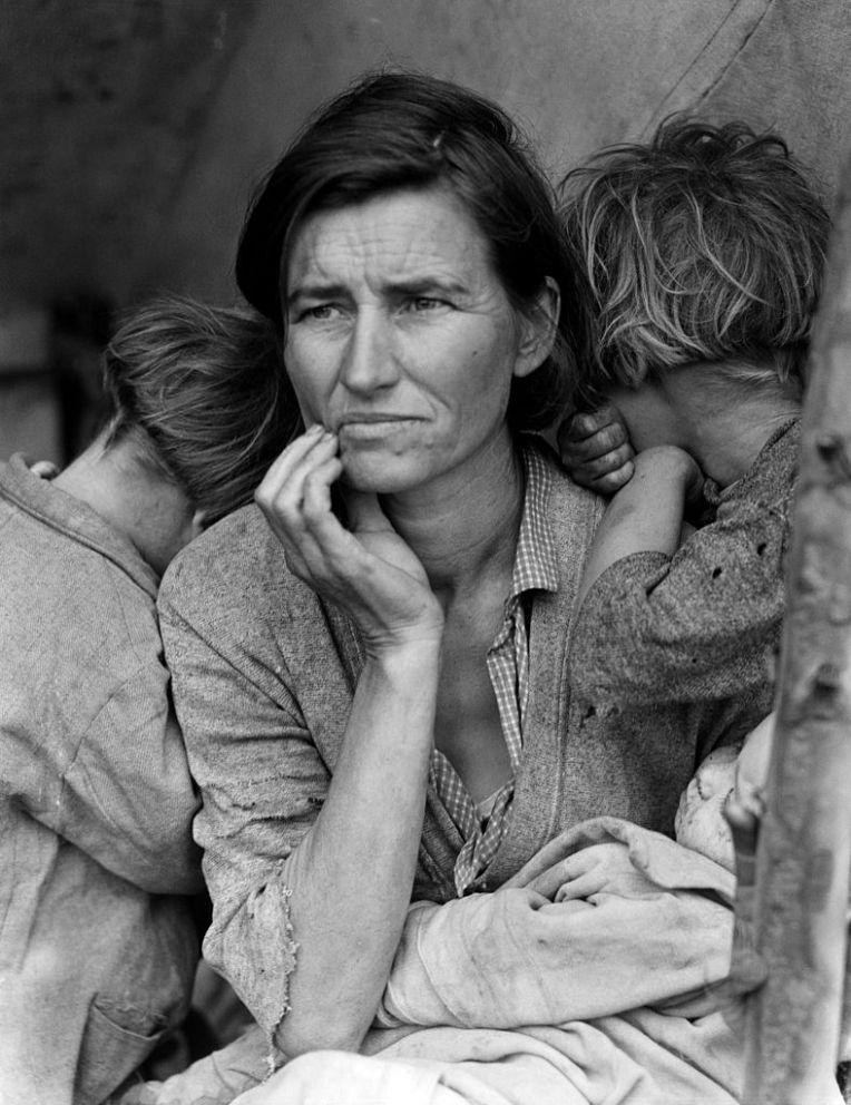 Dorothea Lange, Migrant Mother, 1936