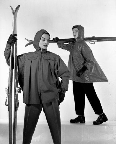 Robert Doisneau, Bettina pour Vogue Décembre, 1950