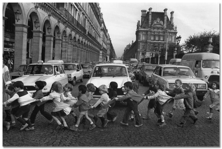 Robert Doisneau, La lessive du marinier, 1961