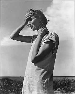 Dorothea Lange Woman of the High Plains, Texas Panhandle 1938