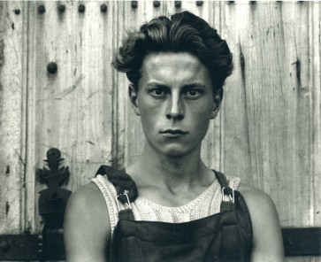 Paul Strand. Young Boy, Gondeville, Charentes, France (1951