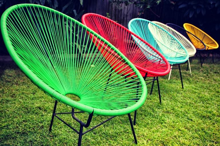 silla acapulco colores