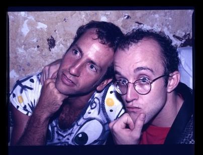 Keith Haring y Kenny Scharf
