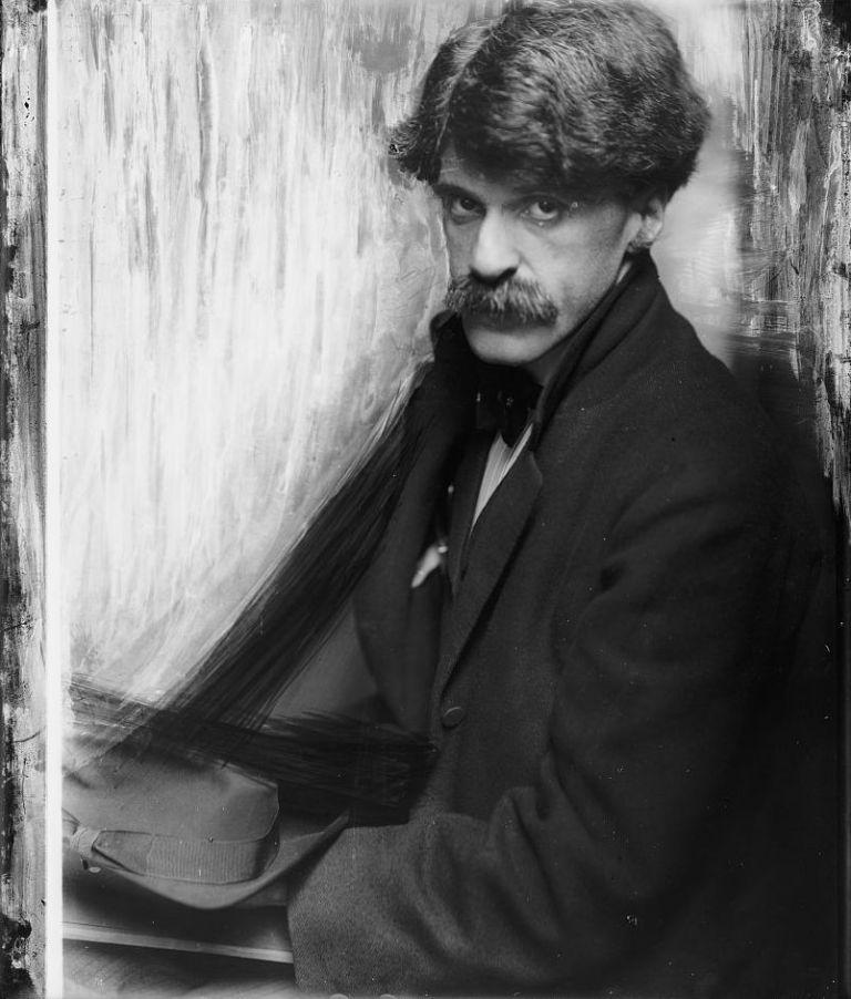 Gertrude Käsebier, Portrait of Alfred Stieglitz, 1902