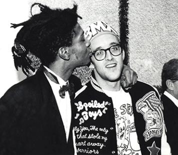 Keith Haring y Jean- Michel Basquiat