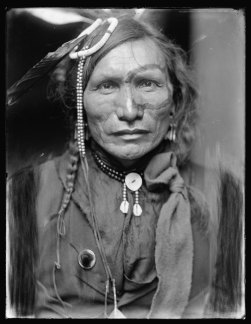 Iron White Man, a Sioux Indian from Buffalo Bill's Wild West Show