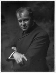 Gertrude Käsebier, Portrait of George Luks (American painter), c1910