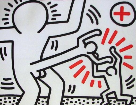 El arte Pop y social de Keith Haring | La Mirada de Ergane