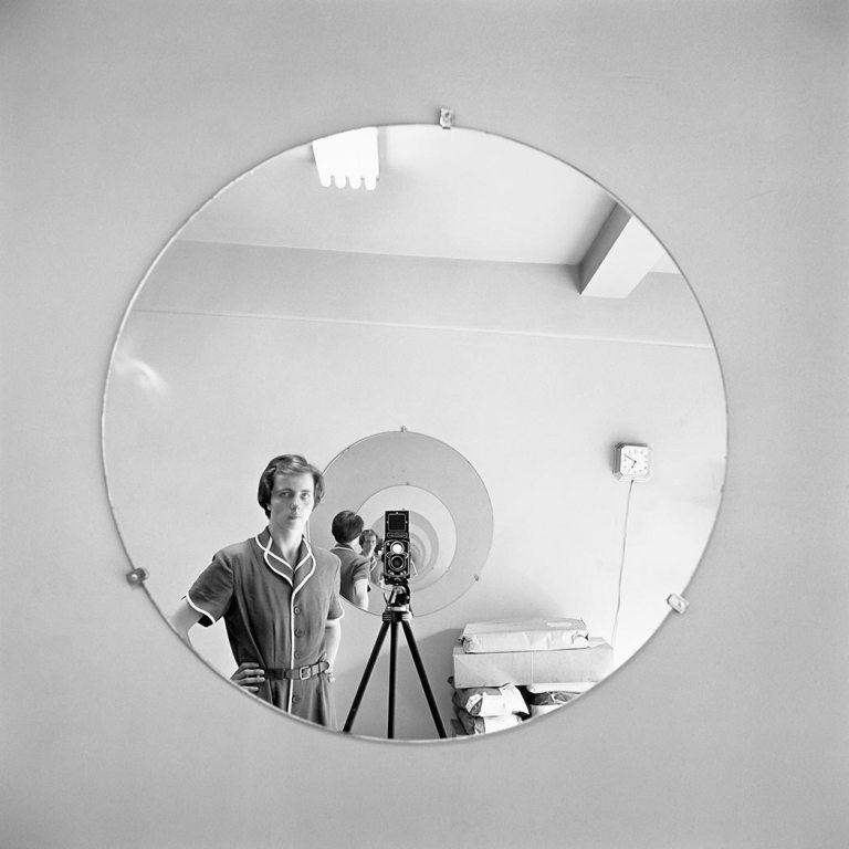 Vivia Maier, Autorretrato, 5 de mayo de 1955