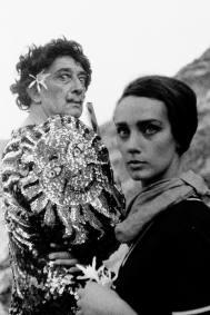 Juana Biarnés, Dalí y su ayudante, Cadaqués, 1960