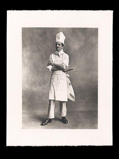 Irving Penn, Chef, London, 1950