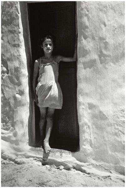 Carlos Pérez Siquier, La niña Blanca, La Chanca, Almería, 1957