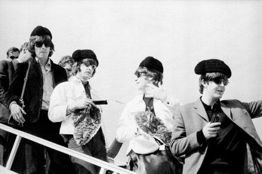 Juana Biarnés, Llegada de The Beatles a Madrid. 1965