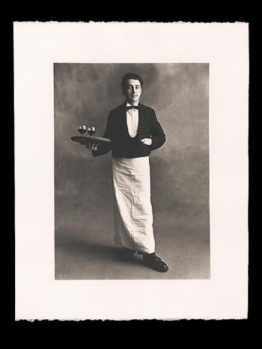 Irving Penn, Garçon de Café, Paris, 1950