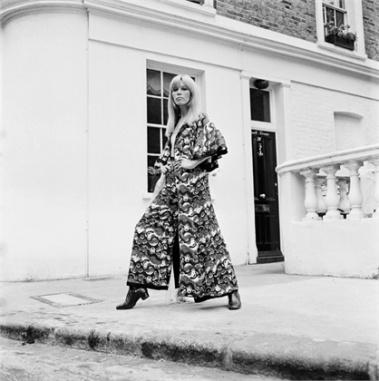 Amanda Lear para Vogue