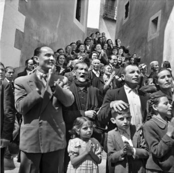 Nicolas Muller, Semana Santa (Cuenca), 1950