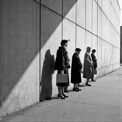 Vivian Maier, 31 de octubre de 1954, Nueva York