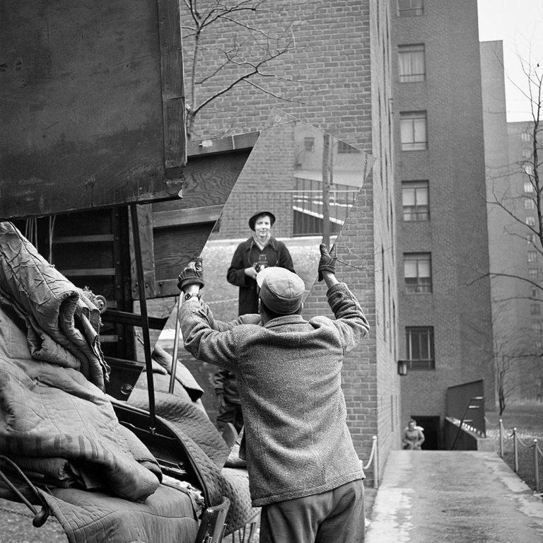 Vivian Maier, Self-Portrait, 1955