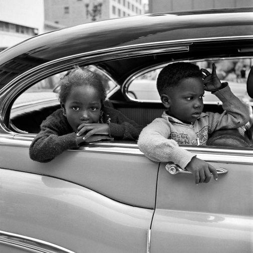 Vivian Maier, 4 de noviembre de 1955, San Francisco