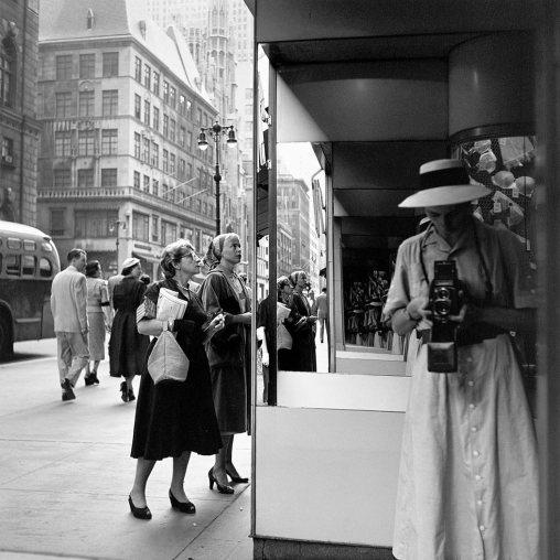 Vivian Maier, Autorretrato, años 50