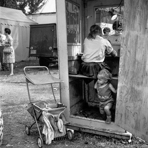 Vivian Maier, Kiddieland, septiembre1966