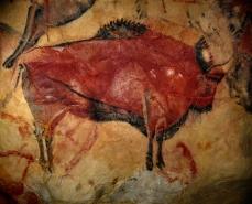Bisonte de la cueva de Altamira