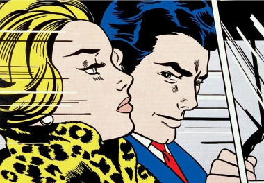 in-the-car-roy-lichtenstein-19631