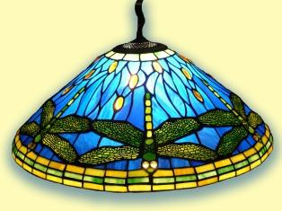 Lámpara Libélula, Louis Comfort Tiffany