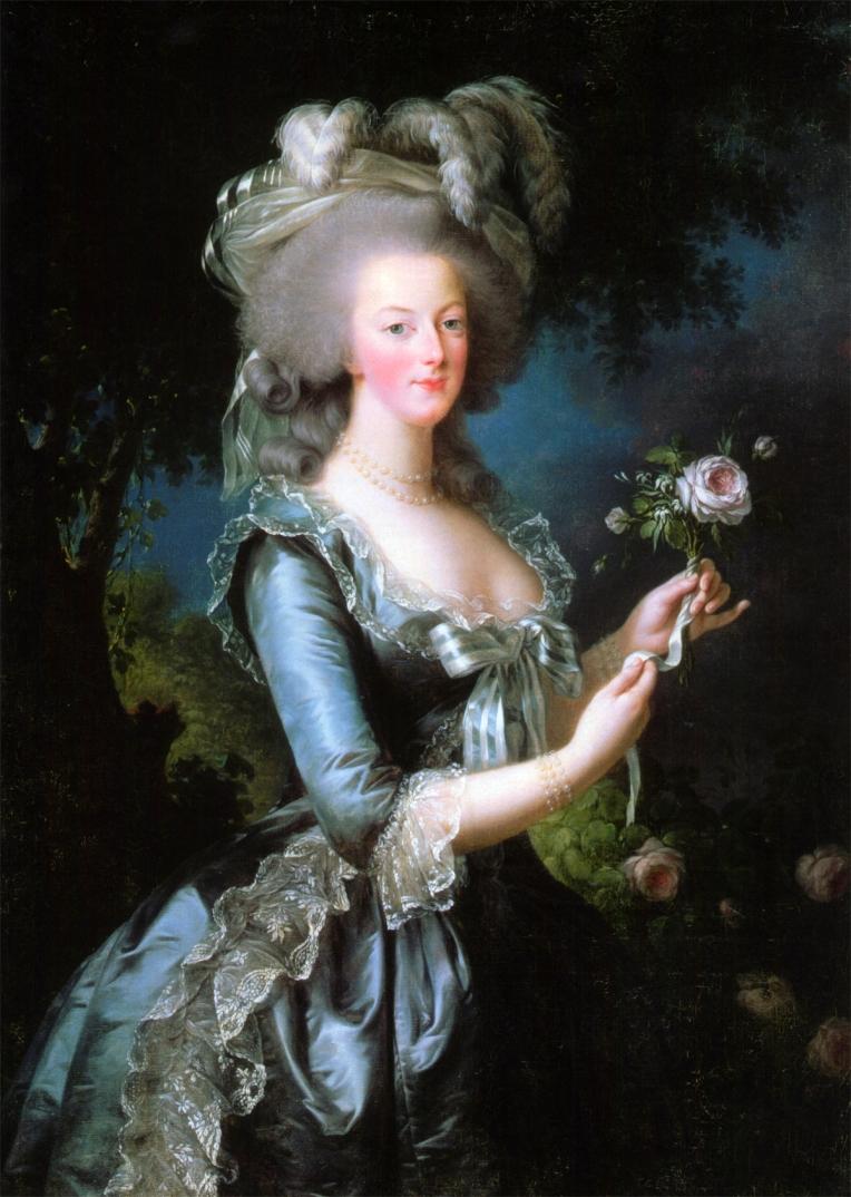 Marie-Antoinette, Élisabeth Vigée Le Brun, 1783