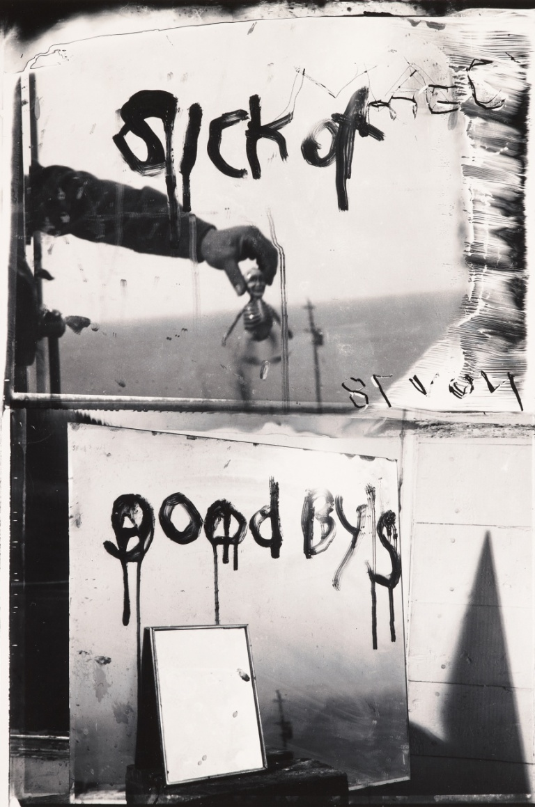 Sick of Goodby's, Robert Frank, 1974