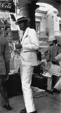 Ciudadano en La Habana, Walker Evans, 1933
