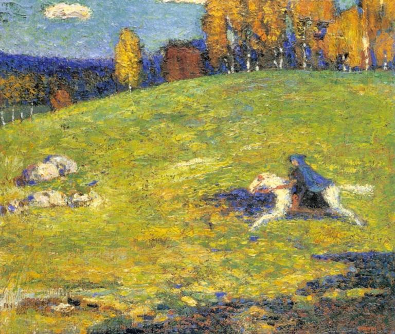 Vasili Kandinsky, El Jinete Azul, 1903