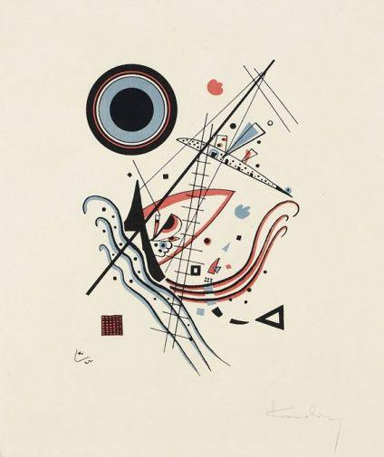 Vasili Kandinsky, Blaue, 1922
