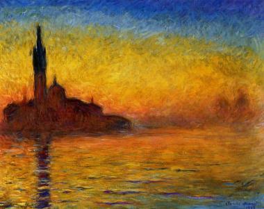 Venecia, Claude Monet, 1908