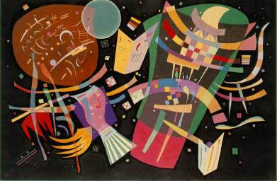 Vasili Kandinsky, Composición X, 1939