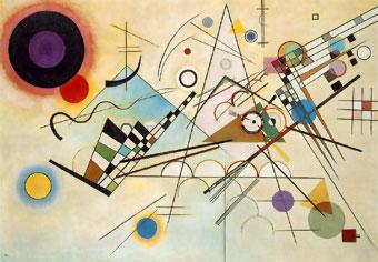 Vasili Kandinskky, Composición Nº 8, 1923