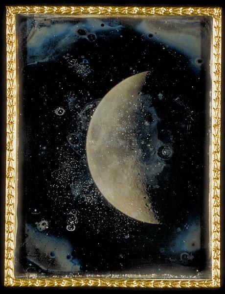 Vista de la Luna, John Adams Whipple, 1852