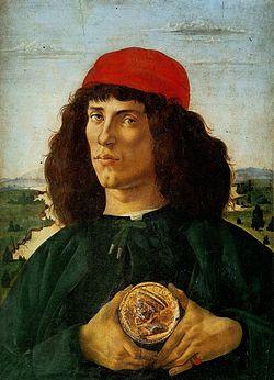 Retrato de hombre con la medalla de Cosme de Médici