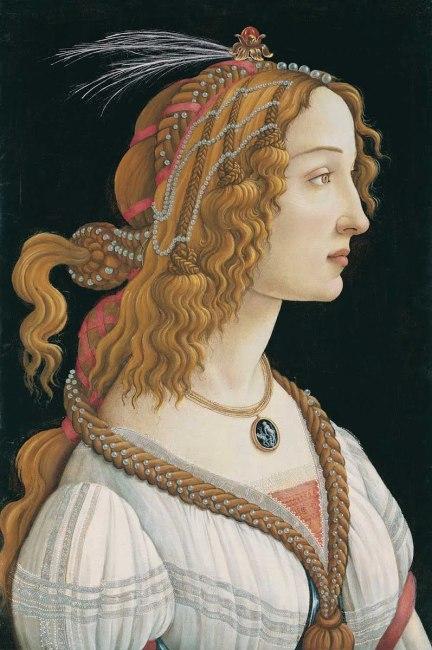 Retrato de una joven